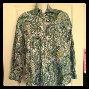Men's Flusser Paisley Button Down Shirt